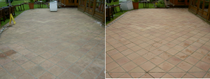 Natural Stone Flooring before and afetr